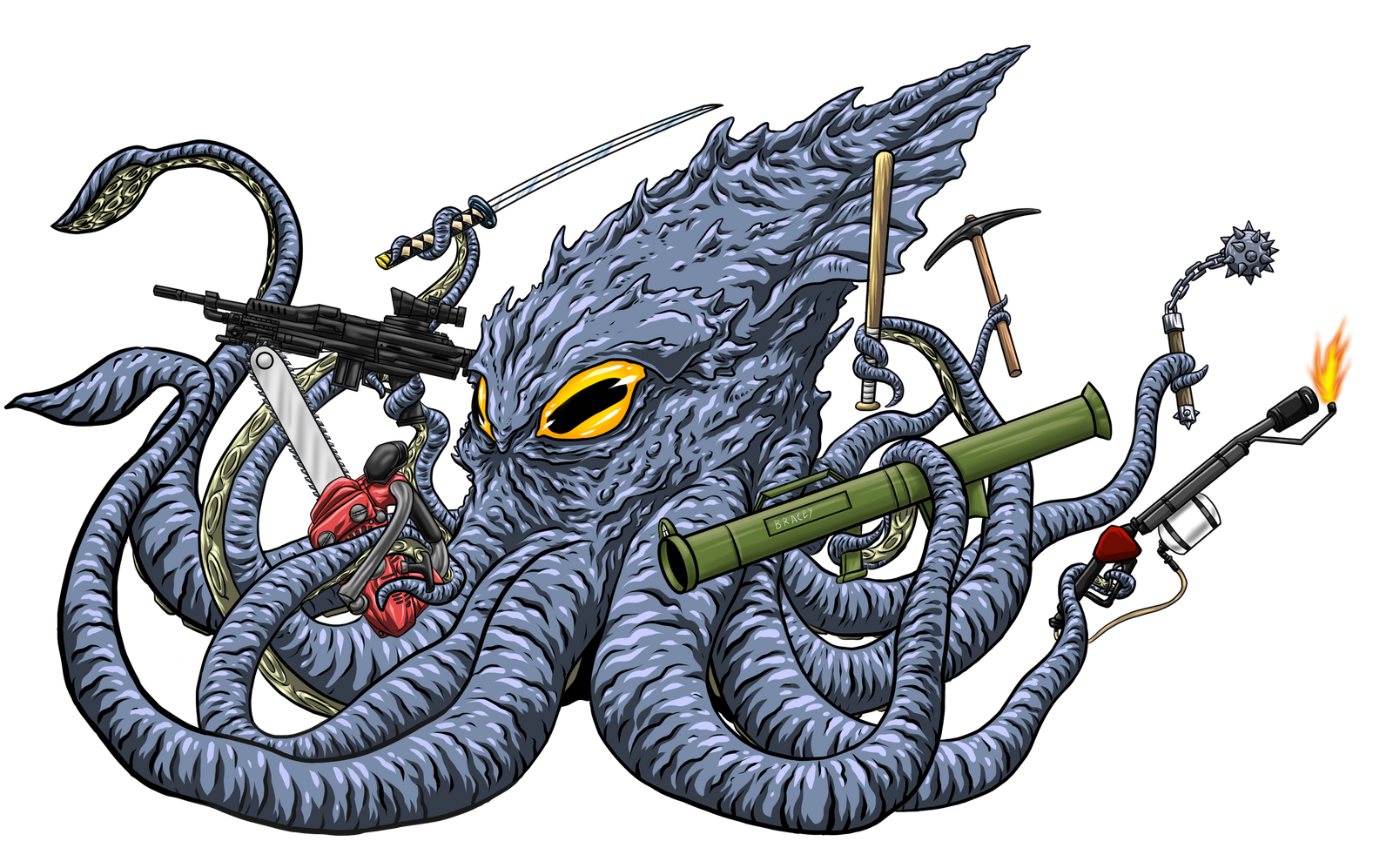 Commissions: Friday Night Score kraken