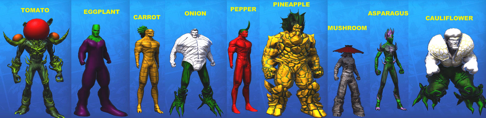 Super Team:  Cornucopia by Bracey100