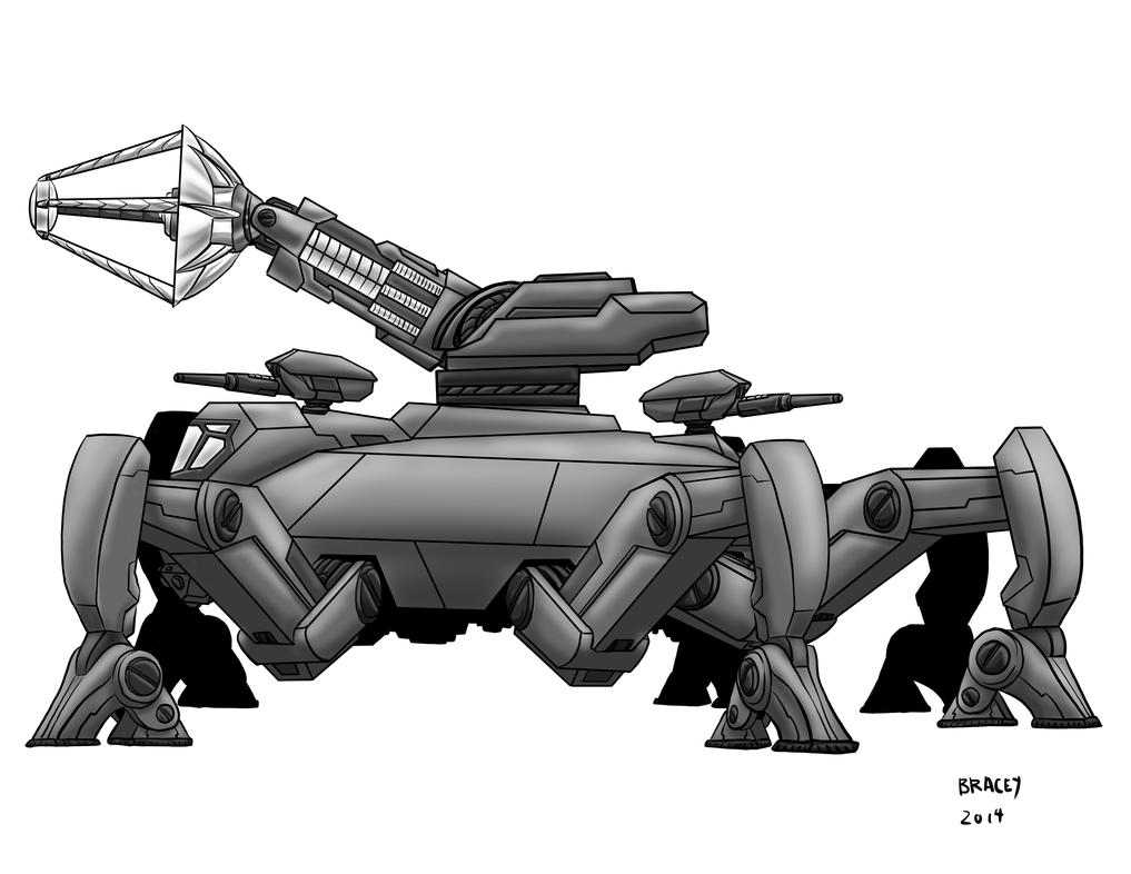 Kaiju Commissions: M.A.W. by Bracey100