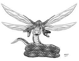 Kaiju Commissions: Behemoth by Bracey100