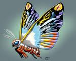 Kaiju Commissions - Mothra Leo