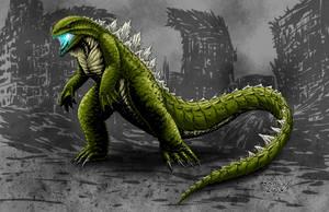 Kaiju Commissions - Godzilla Extreme by Bracey100