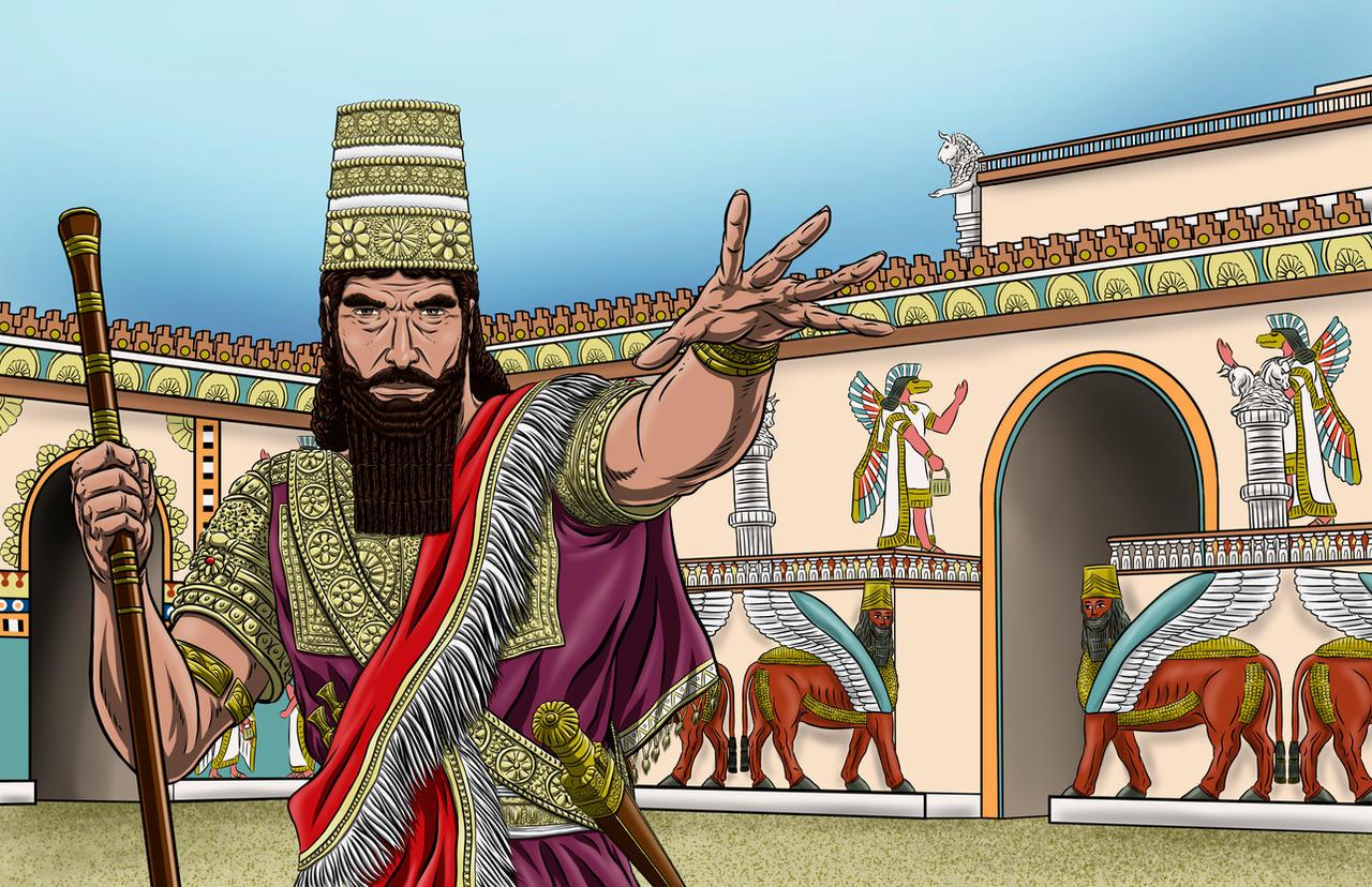 Sargon of Akkad by Bracey100 on DeviantArt