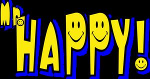 Mr Happy logo