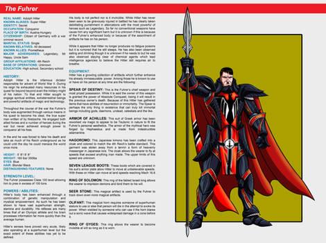 Southern Comics Handbook: The Fuhrer