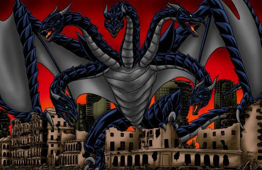 Kaiju Commissions: Tiamat