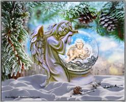 Winter Angel by TheNetGirl