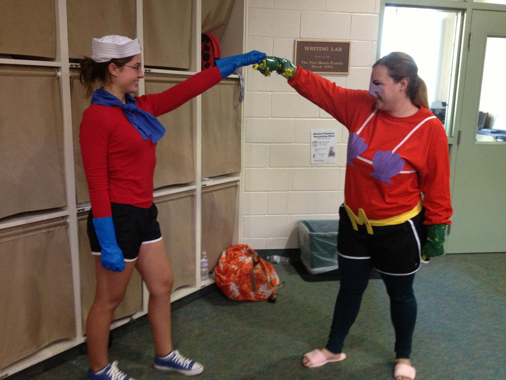Mermaid Man and Barnacle Boy UNITE! by endlessimpossibility ... & Mermaid Man and Barnacle Boy UNITE! by endlessimpossibility on ...