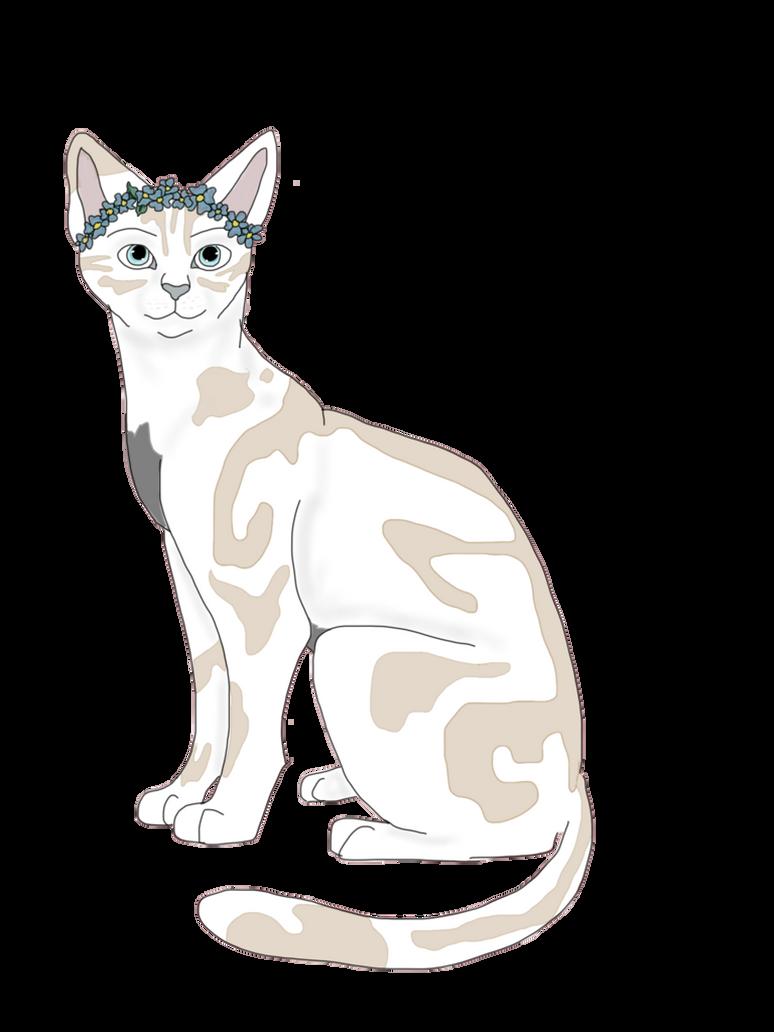 Flower Crown Cat By Trahere On Deviantart