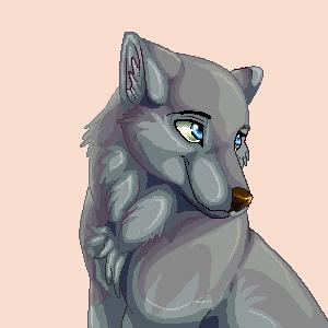 wolf pup Oekaki by pharao-girl