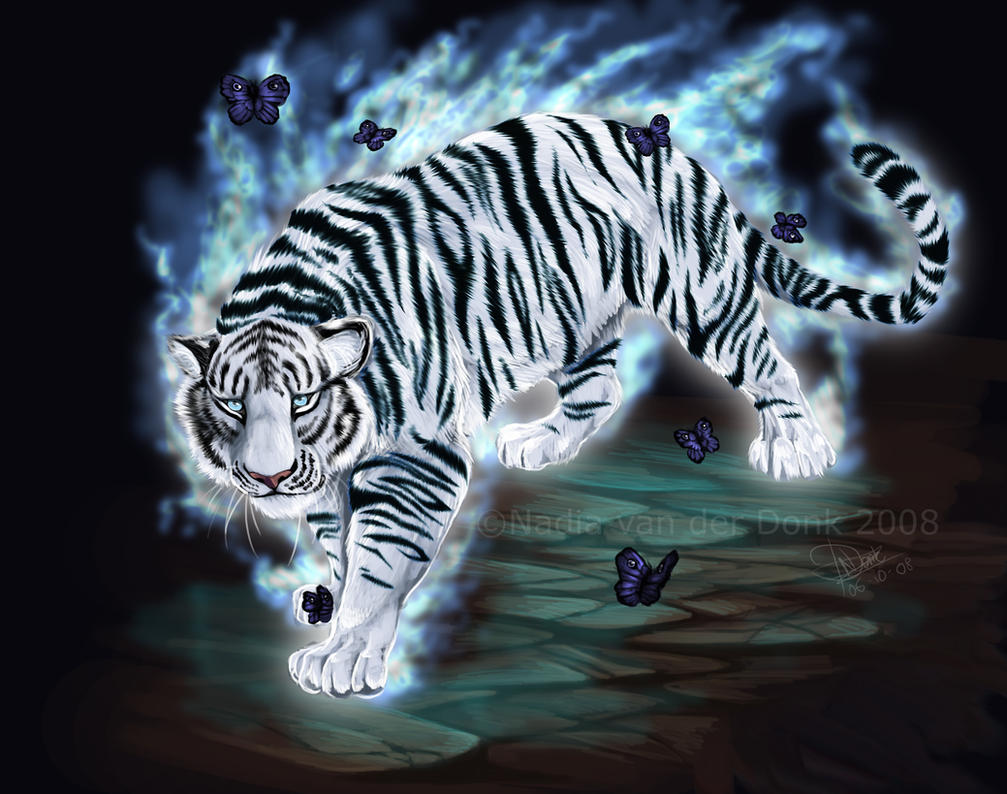 Magic tiger by pharao girl
