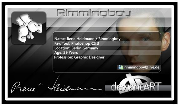 Rimmingboy's Profile Picture