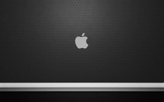 Wallpaper grey apple