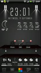My HTC Sensation Screen