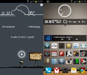 Galaxy s3 screenshot