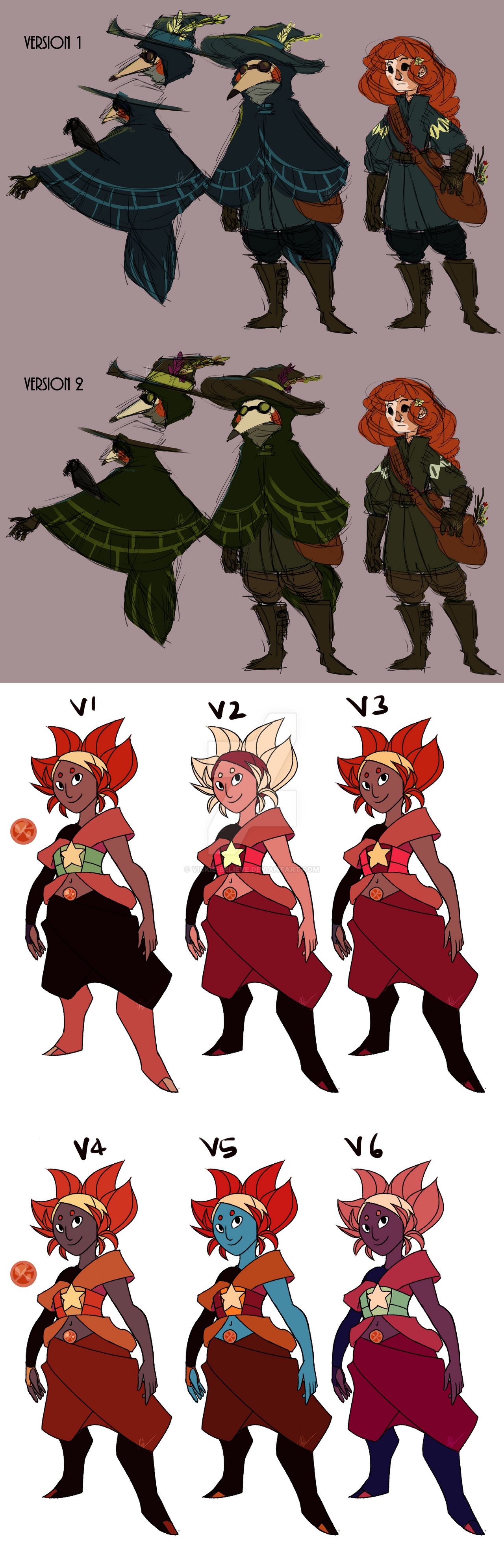 Character Design Color Scheme : Character design color scheme vote by vickie believe on