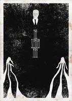The Slender Man by armyofdeathchickens