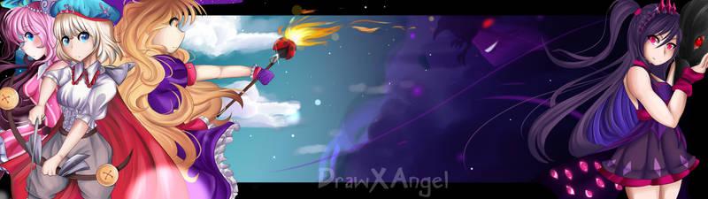 Light vs Dark by DrawXAngel