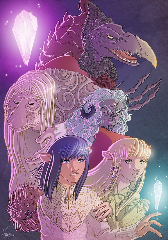 Dark Crystal by Flfleur