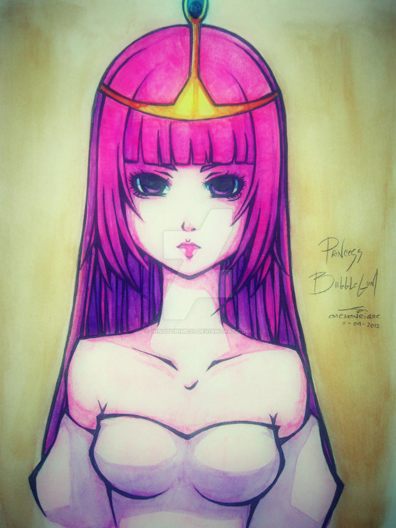 Princess Bubblegum by ningyohime07