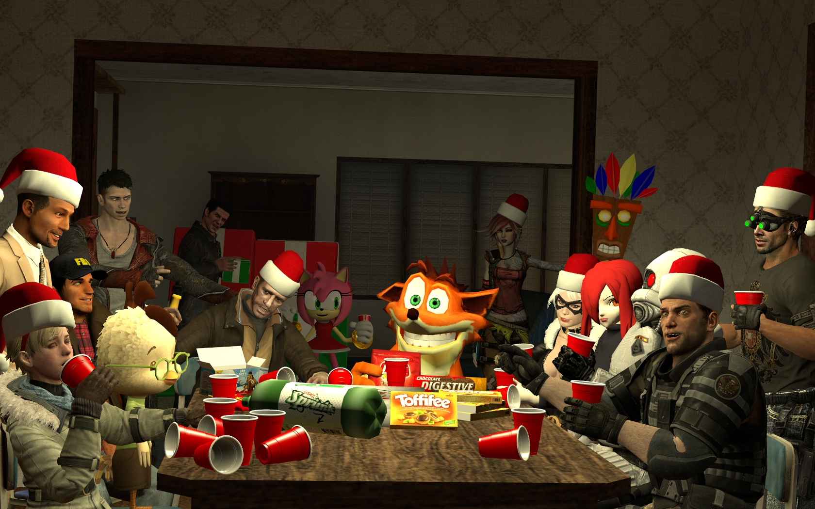 Beautiful Wallpaper Minecraft Christmas - gmod_christmas_time_friends__by_minimole-d6xep0h  Picture_74421.jpg