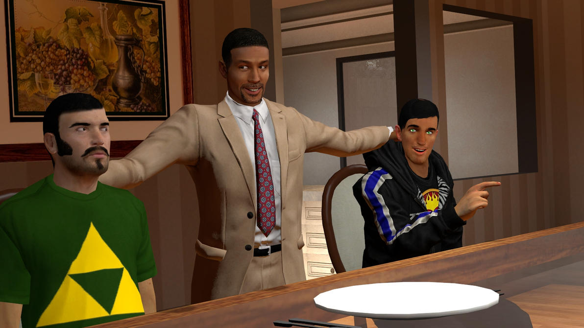 Gmod:Dinner at Will Smiths by Minimole