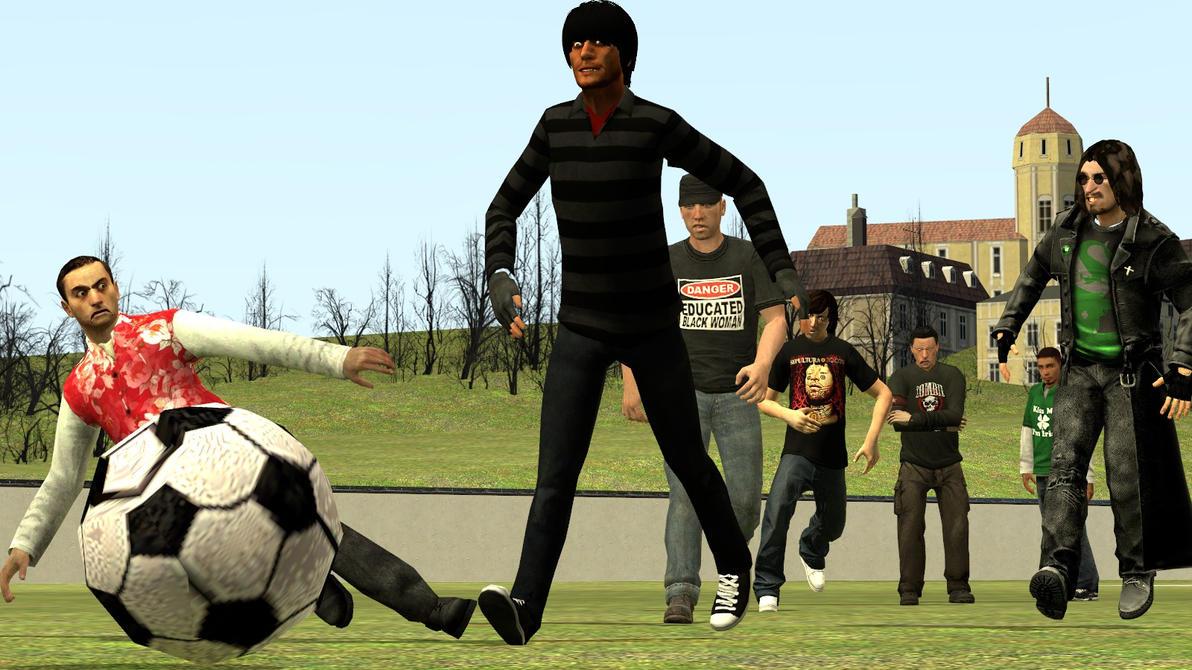 Gmod: Playin some good ol soccer by Minimole