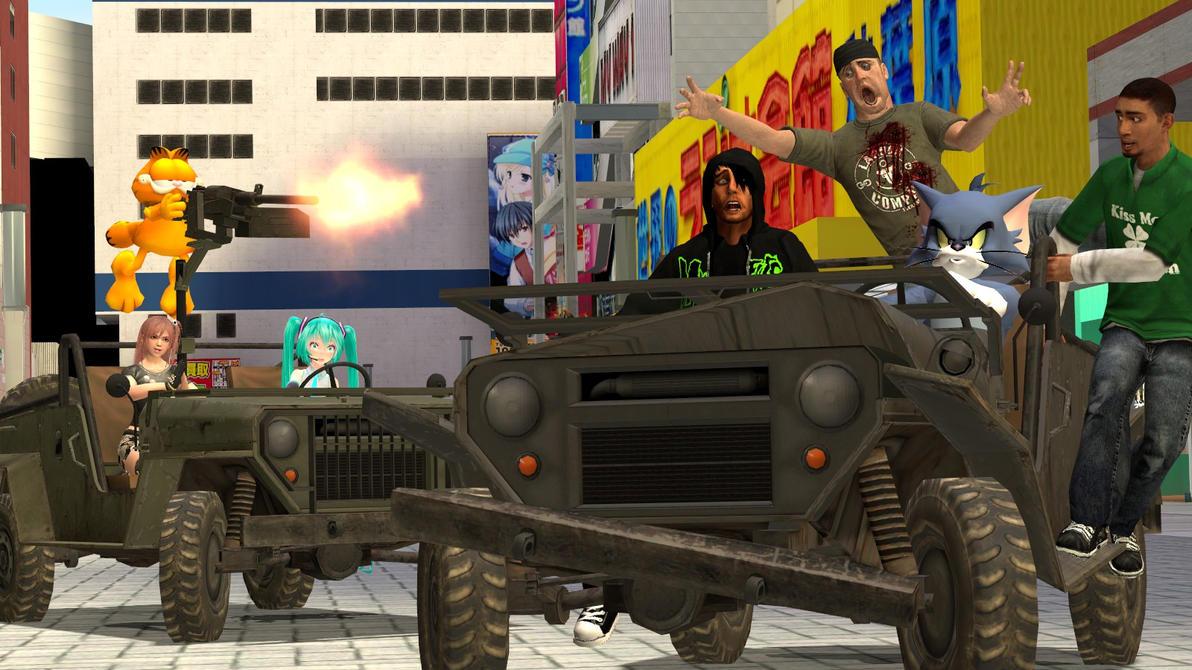 Gmod:Tom the wheelman by Minimole