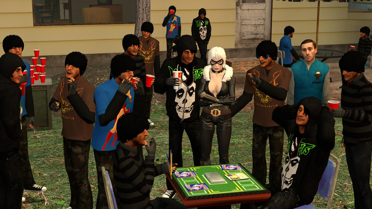 Gmod:Lonely Party by Minimole