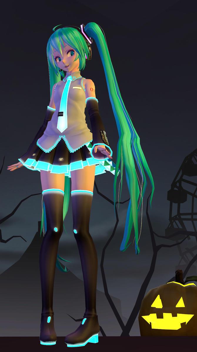 Gmod:Halloween Miku by Minimole