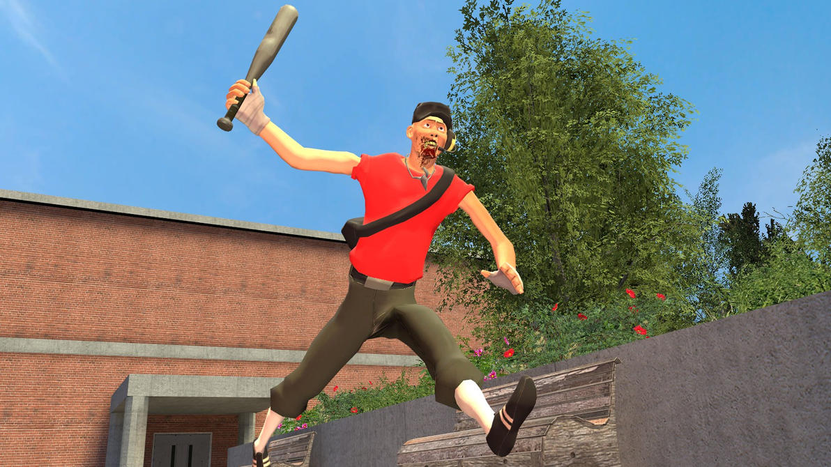 Gmod:Here comes scout? by Minimole