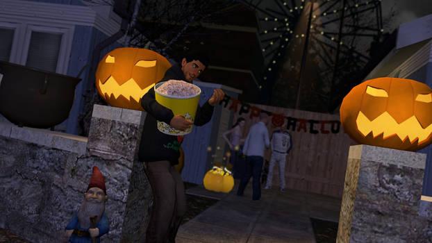 Gmod:Halloween Party