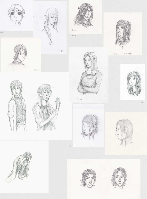 New Story Sketchdump (2) by Ka-Thea