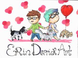 Erin Derrick Art Banner