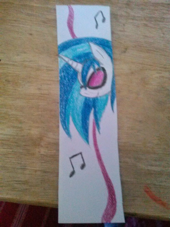Vinyl Scratch Bookmark by StagetechyArt