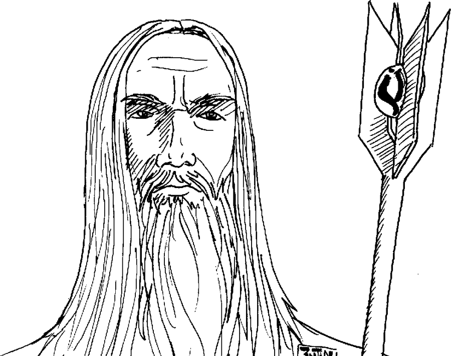 Saruman S Rings