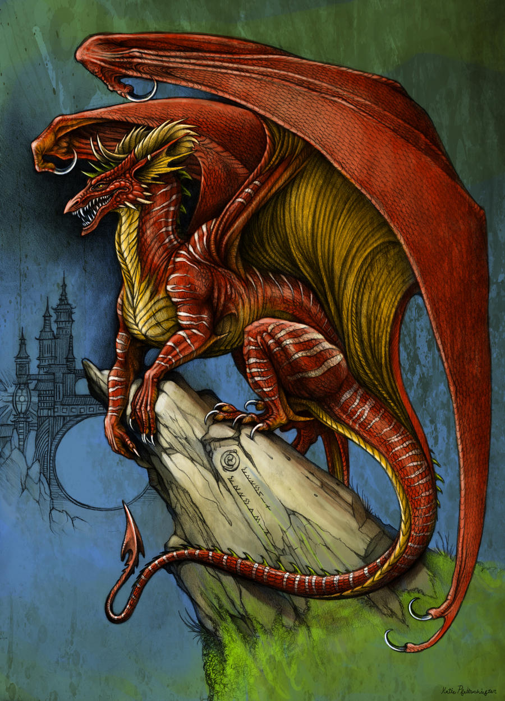 Arrosin Perch Coloured by KatePfeilschiefter