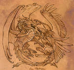 Dragon and Gryphon