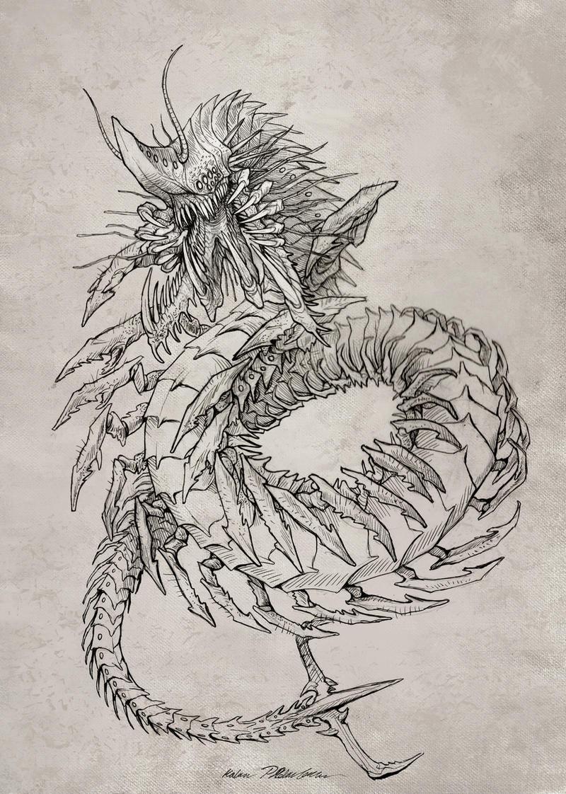 Sketch Commission: Sylizar by KatePfeilschiefter