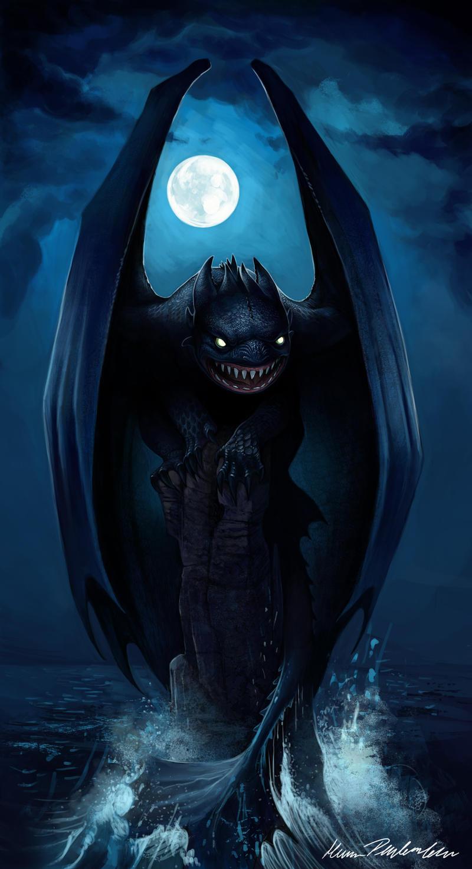 Night fury by katepfeilschiefter on deviantart - Fury nocturne ...