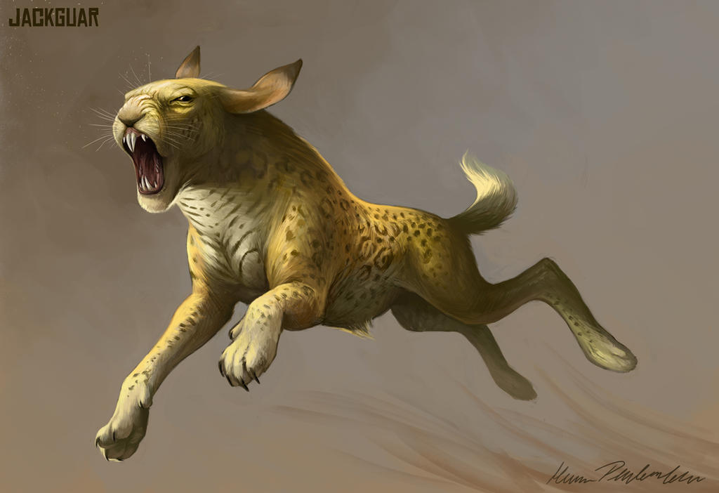 Lepus Panthera by KatePfeilschiefter