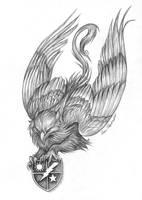 Ranger Gryphon by KatePfeilschiefter