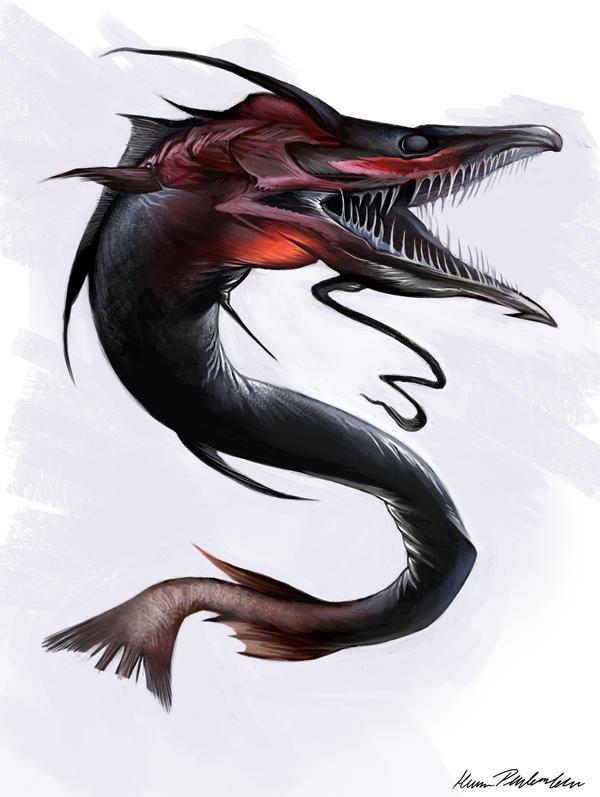 Angst Fish by KatePfeilschiefter