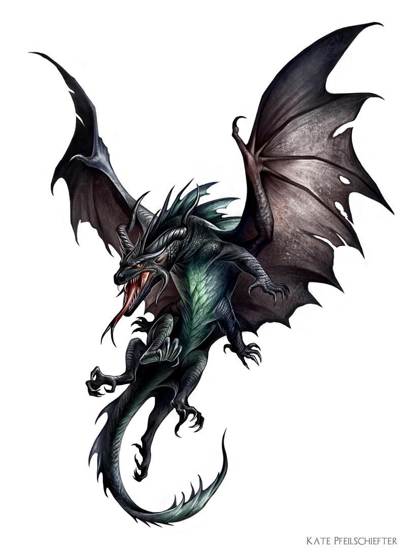 Dracolisk by KatePfeilschiefter