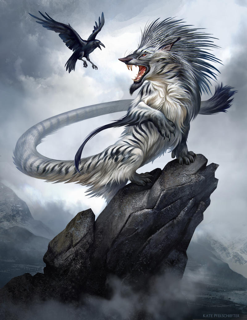 Mountain Ichneumon II by KatePfeilschiefter