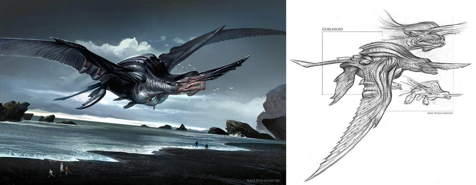 Goblinoid Kaiju by KatePfeilschiefter