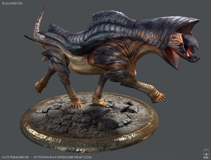 Scalloped Ox - Model by KatePfeilschiefter