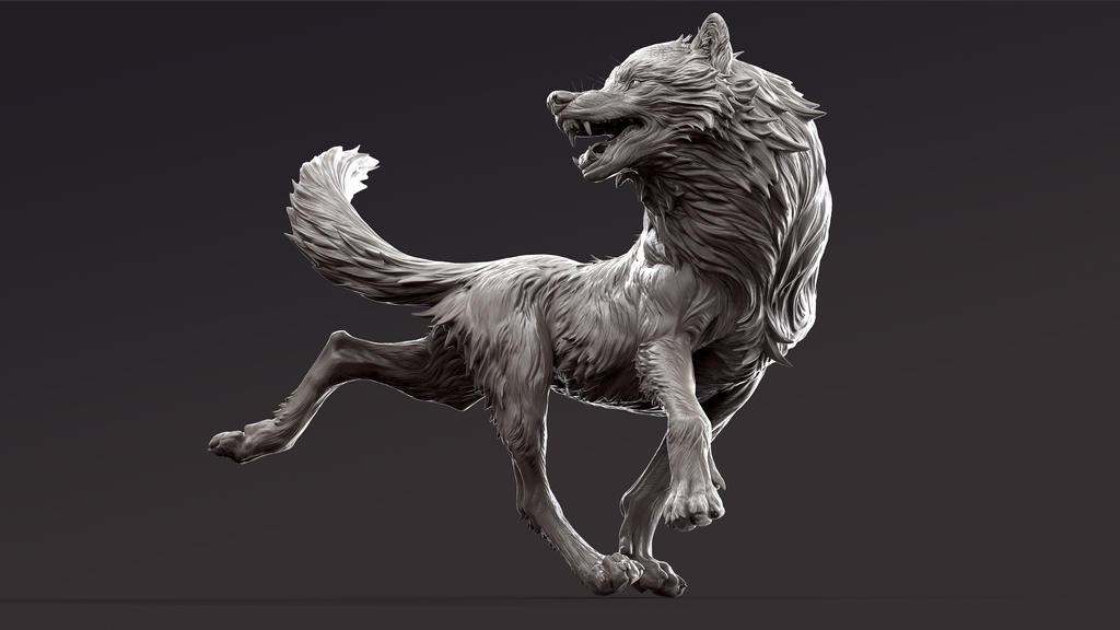 Loup by KatePfeilschiefter