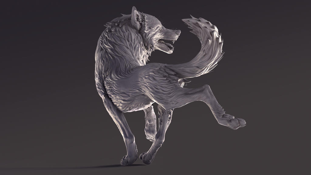 Loup II by KatePfeilschiefter