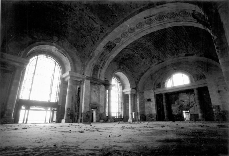 Michigan Central Station by kgrillz